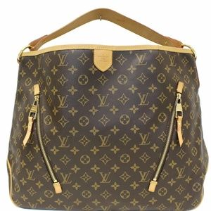 LOUIS VUITTON Delightful GM Shoulder Bag Brown